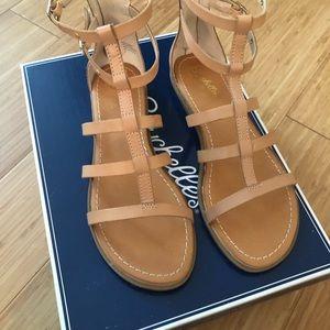 Seychelles nude leather gladiator sandal